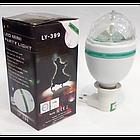 Вращающаяся диско-лампа LY-399 Led lamp Full Color лампочка + проектор (44862), фото 2