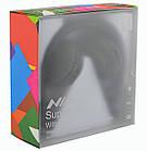 Беспроводные Bluetooth стерео наушники NIA X2 с МР3 и FM Black, фото 6