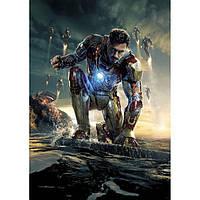 Настенный плакат с Тони Старком (Iron Man)