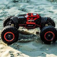 Трюковый BigFoot Rock Crawler на р/у, 41 см, UD2170A   Масштаб 1:12   Красного цвета