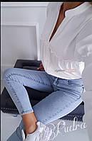 Блузка женская белая, чёрная, розовая, фото 1