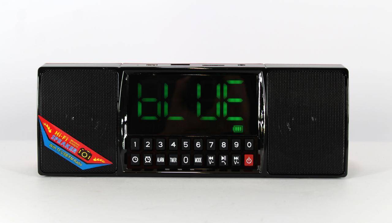 Моб.Колонка SPS WS 1515 BT+ Clock (ОПТОВАЯ цена от 40 шт)