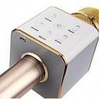 Беспроводной микрофон караоке Q7 Bluetooth динамик USB, фото 2