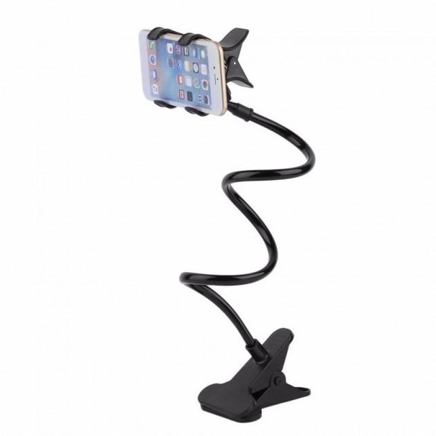 Универсальный держатель мобильного телефона или планшета UTM Black