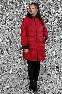 Двусторонняя удлиненная куртка больших размеров 54-62