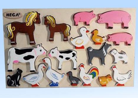 Набір фігурок свійські тварини