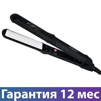 Выпрямитель для волос Scarlett SC-HS60004, керамика, утюжок для волос, щипцы для выпрямления и завивки, фото 2