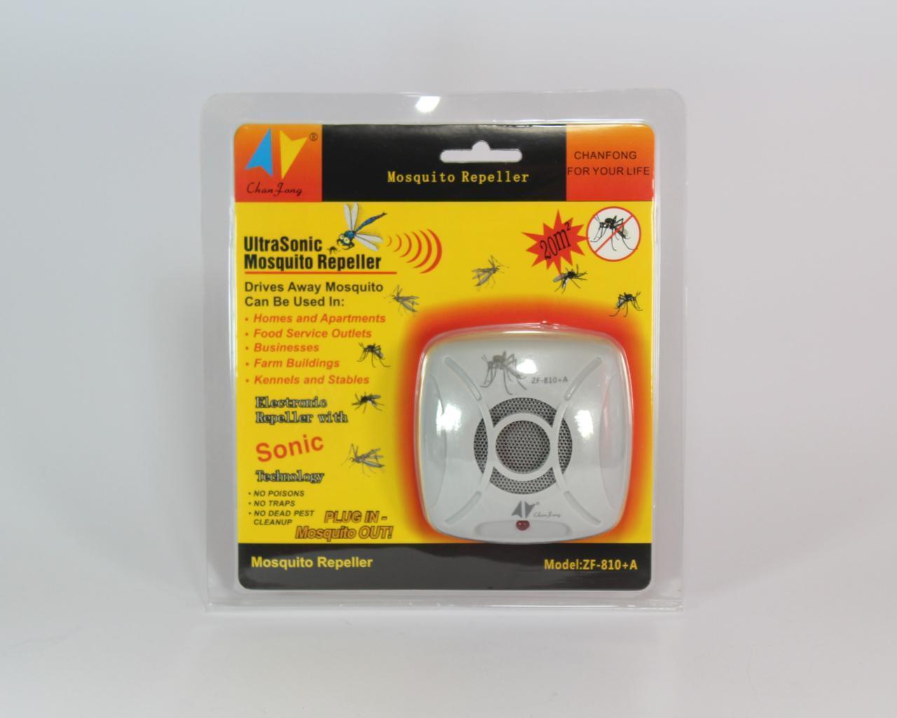 Отпугиватель комаров ZF810A от сети 220V (ОПТОВАЯ цена от 96 шт)