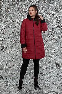 Двусторонняя удлиненная куртка больших размеров 54 56 60-72