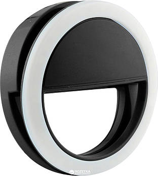 Селфи-кольцо Protech Selfie Ring Light Black (XJ-01BL)
