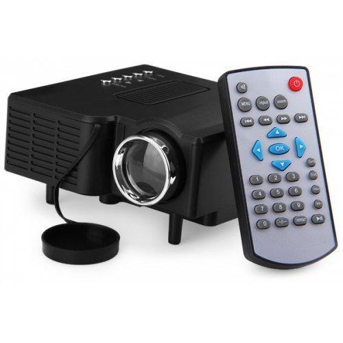 Міні проектор портативний мультимедійний Led Projector UC28+