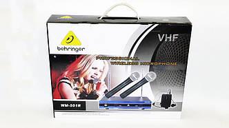 Радиосистема Behringer WM-501R база 2 радиомикрофона