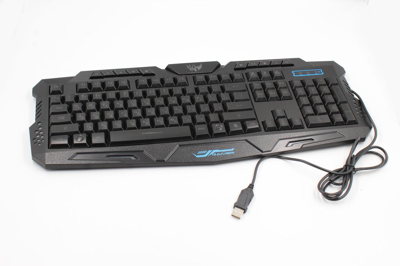 Клавиатура KEYBOARD LED M200 (ОПТОВАЯ цена от 20 шт)