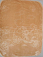 Детское одеяло плед  двусторонний  105х135 см (Х-001)