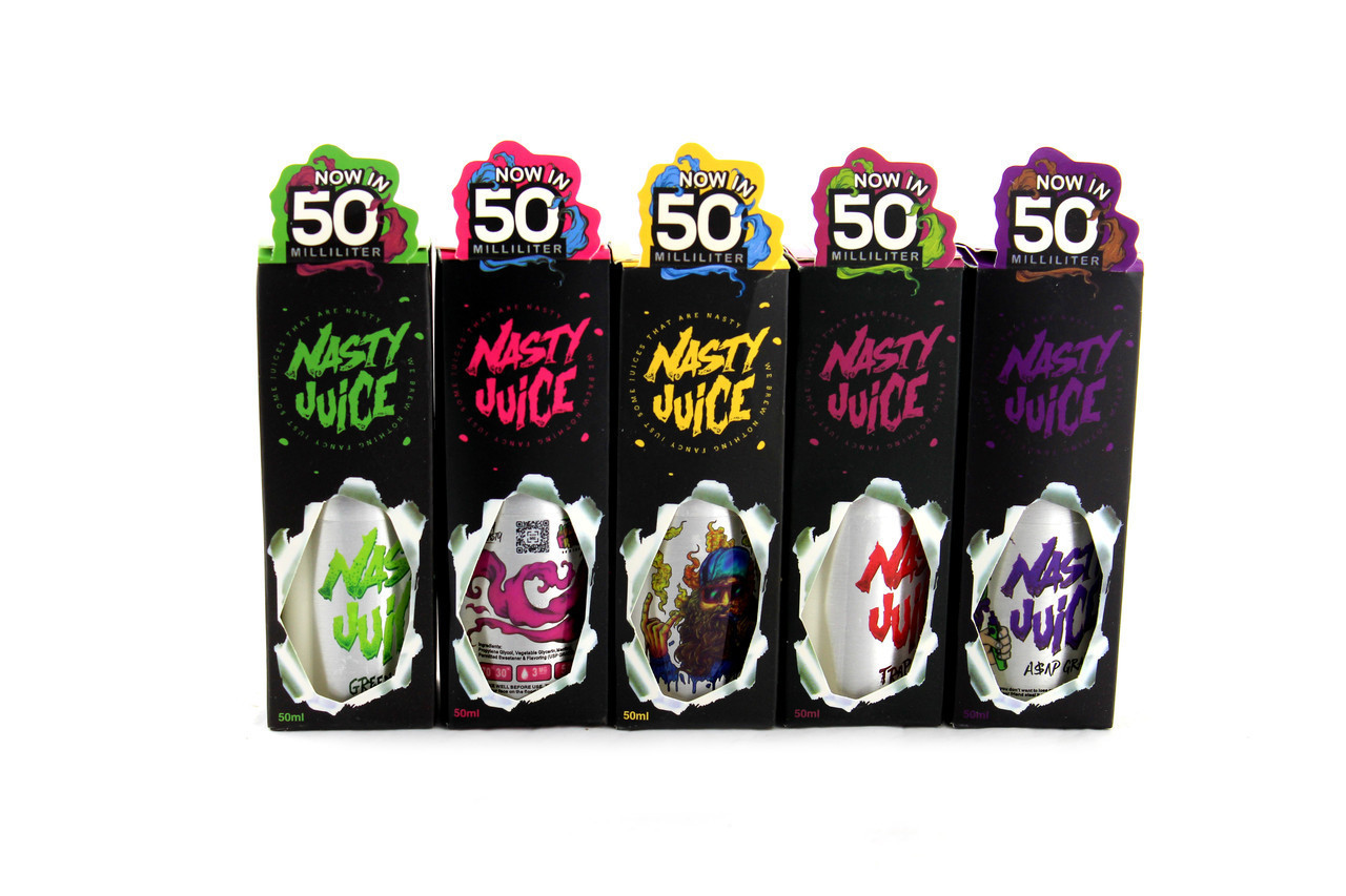 Жидкость для электронных сигарет Nasty juice 50ml 1645-1 (ОПТОВАЯ цена от 200 шт)