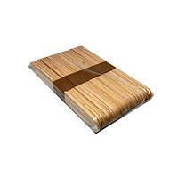 Шпатель деревянный для депиляции средний 14 см, 50 шт