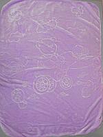 Детское одеяло плед  двусторонний  105х135 см (Х-003)