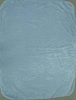 Детское одеяло плед  двусторонний  105х135 см (Х-004)