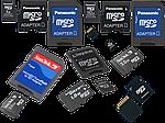 SD, MicroSD карты