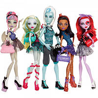 Кукла Monster High Набор из 5-ти кукол Танцевальный класс – Dance Class 5 Pack