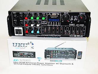 Усилитель звука UKC AV-326BT Bluetooth Караоке на 4 микрофона