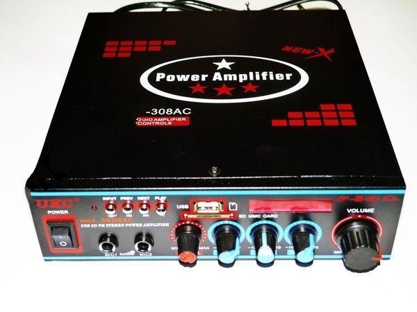 Усилитель звука UKC SN-308AC USB+SD+MP3