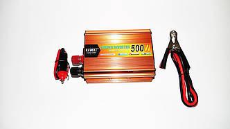 Перетворювач напруги 12-220V UKC 500W Gold
