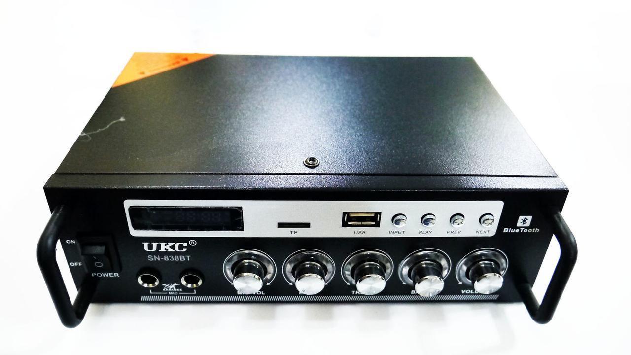 Усилитель звука UKC SN-838 BT (Bluetooth)