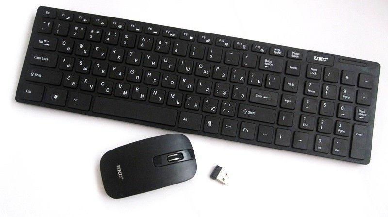 K06 Бездротова клавіатура і миша