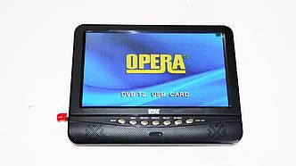 "9,5"" TV Opera 901 Портативный телевизор с Т2 USB SD"