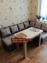 Кухонный уголок со спальным местом на заказ Киев