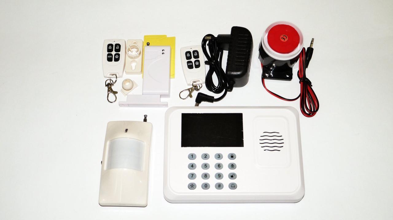 GSM сигналізація JYX G1 для дому з датчиком руху. 2 пульта