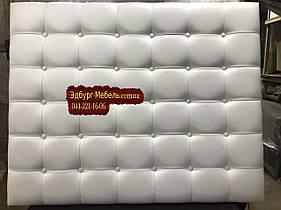 Изголовье кровати с пуговицами на заказ