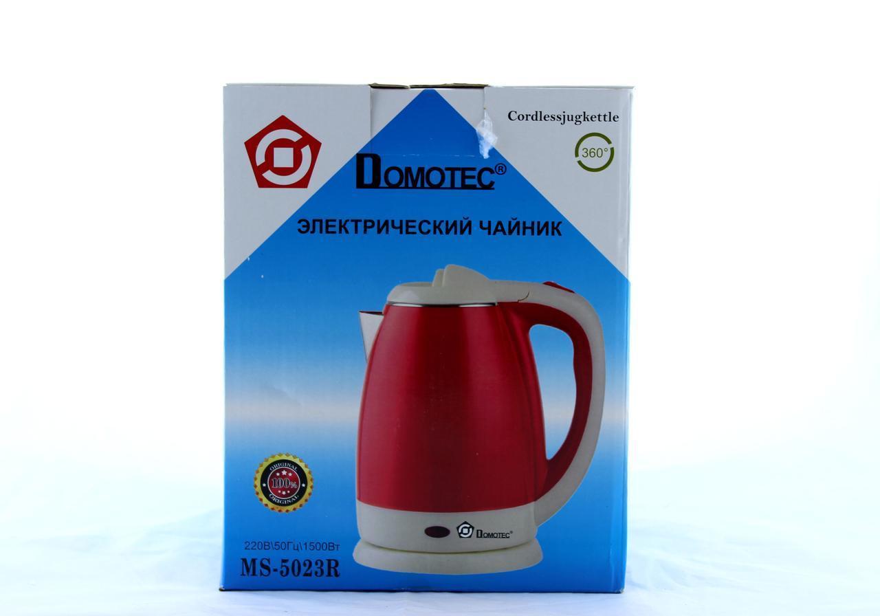 Чайник Domotec MS 5023 Красный 220V/1500W