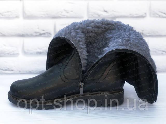 зимние сапоги больших размеров