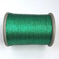 Нить металлизированная. Цвет: зеленый. Катушка 1000 м