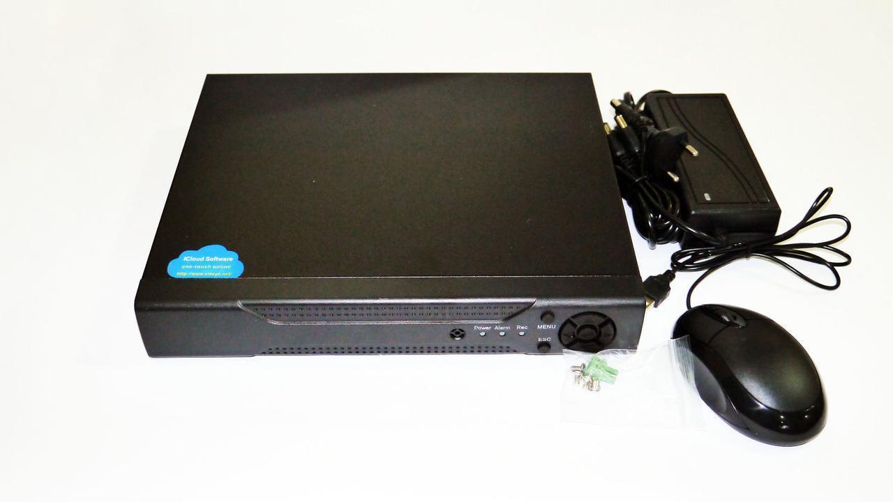 Комплект відеоспостереження DVR Kit Digital Video Recorder 8-канальний (4 камери в комплекті) 160 Гб