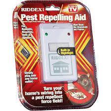 Отпугиватель грызунов и насекомых Pest Repeller Riddex Plus