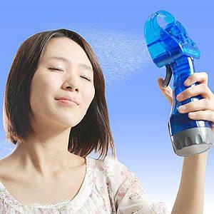 Ручной маленький вентилятор с увлажнителем Water Spray Fan