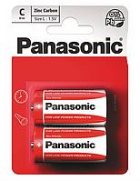 Батарейки C Panasonic RED ZINK R** [14 BLI 2 ZINK-CARBON]