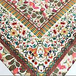 10798-2, павлопосадский платок на голову хлопковый (саржа) с подрубкой, фото 6