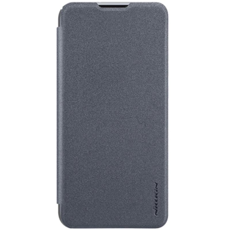 Кожаный чехол (книжка) Nillkin Sparkle Series для Huawei P Smart (2019)