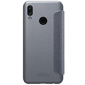 Кожаный чехол (книжка) Nillkin Sparkle Series для Huawei P Smart (2019), фото 2