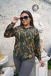 Женская стильная блуза Цепи 0231