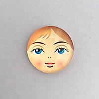 Кабошон лицо матрешки 25 мм