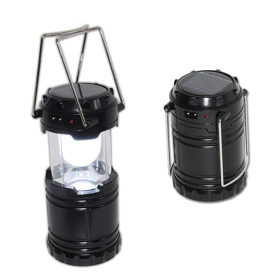Туристичний ліхтар-лампа на сонячній батареї G-85 кемпінговий ліхтар