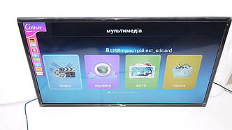 "LCD LED Телевизор Comer 32"" Smart TV, WiFi, 1Gb Ram, 4Gb Rom, T2, USB/SD, HDMI, VGA, Android"