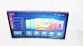 "LCD LED Телевизор Comer 32"" Изогнутый Smart TV, WiFi, 1Gb Ram, 4Gb Rom, T2, USB/SD, HDMI, VGA, Android"