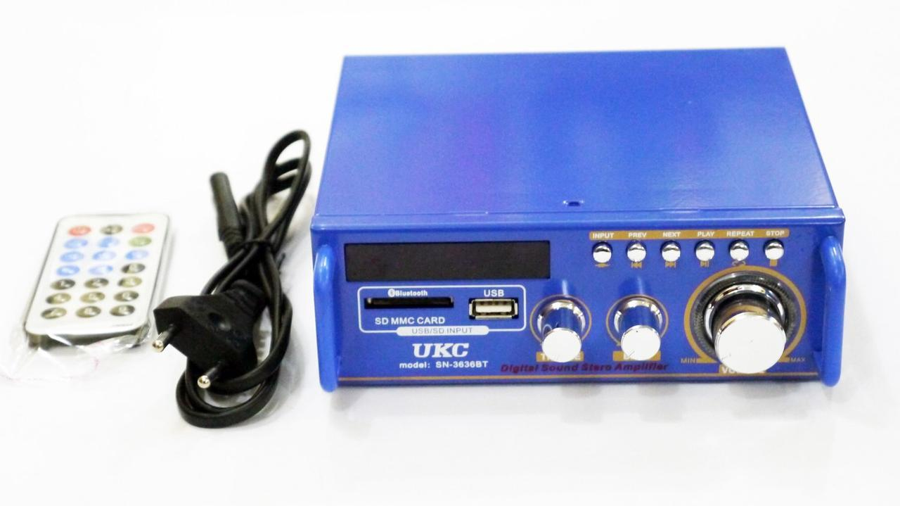 UKС SN-3636BT Стерео усилитель c Bluetooth