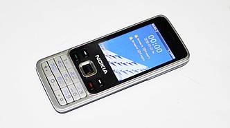 Мобильный телефон  6300 (Китай) (2Sim, металлический корпус)